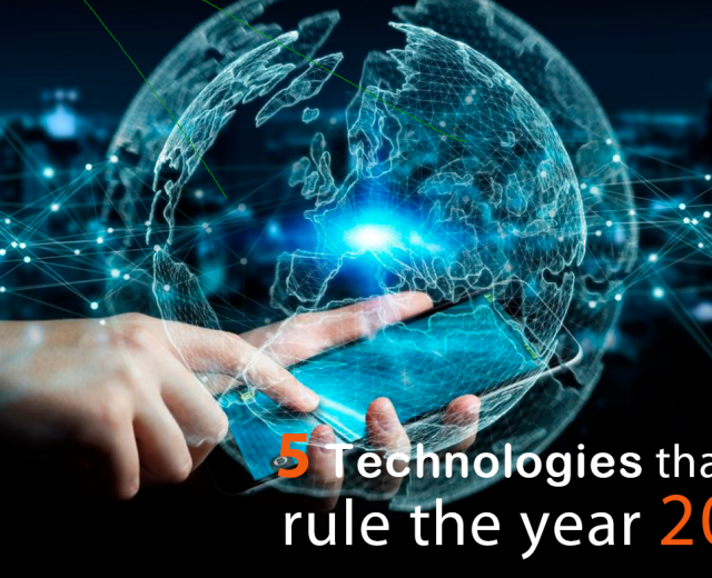 5 Technologies that will rule the year 2020